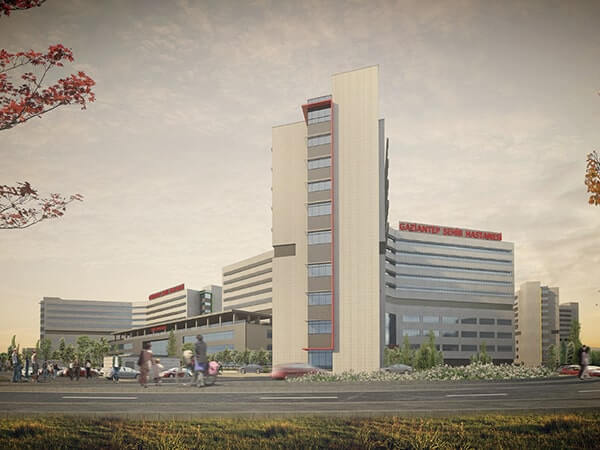 GAZIANTEP INTEGRATED HEALTH CAMPUS