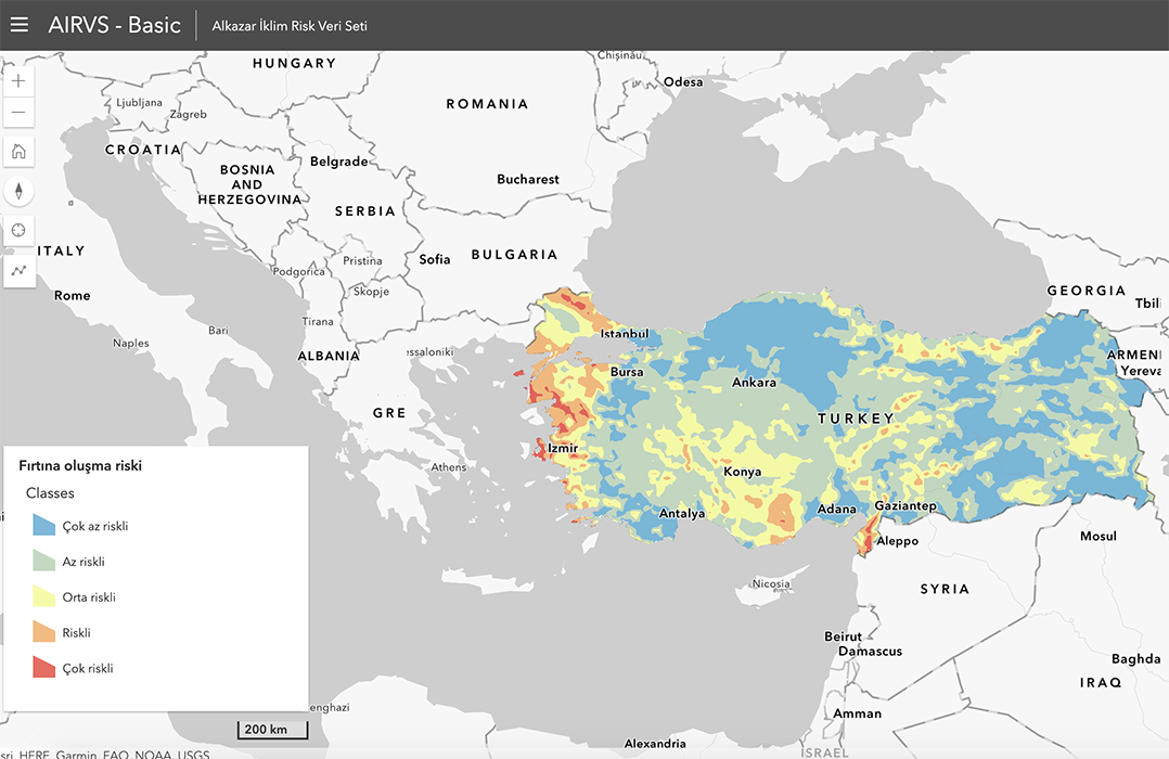 Alkazar Climate Risk Data Set (AİRVS) and Preparation Process